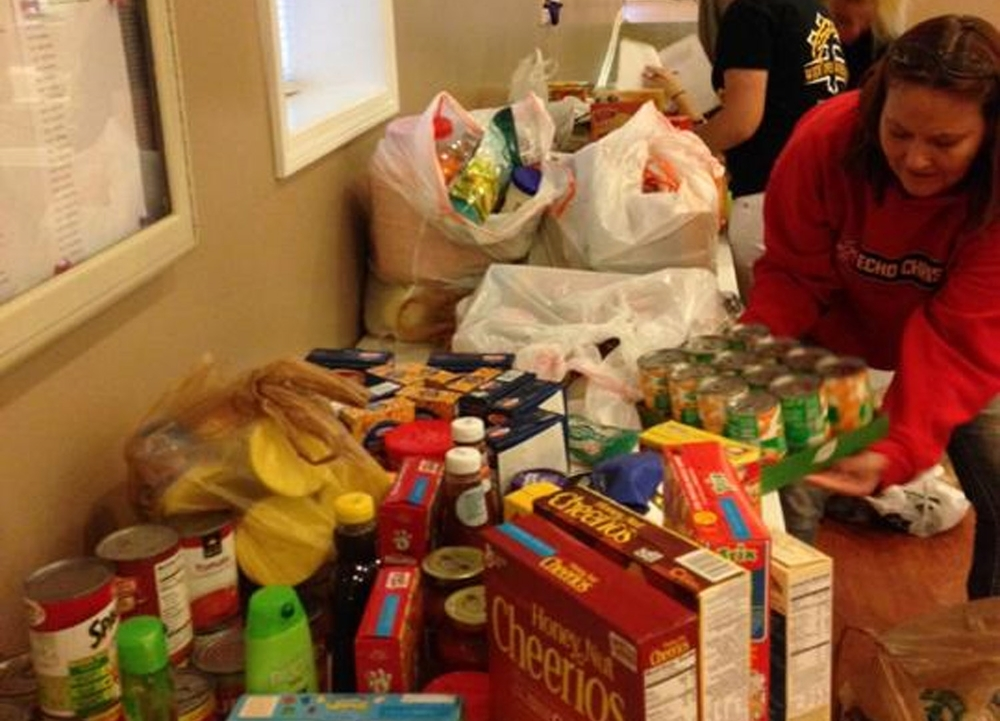 5th Annual Food Scavenger Hunt for Church Food Pantry - Oct 2014