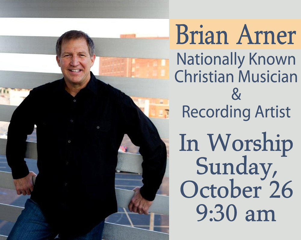 Brian Arner in Worship - Oct 2014