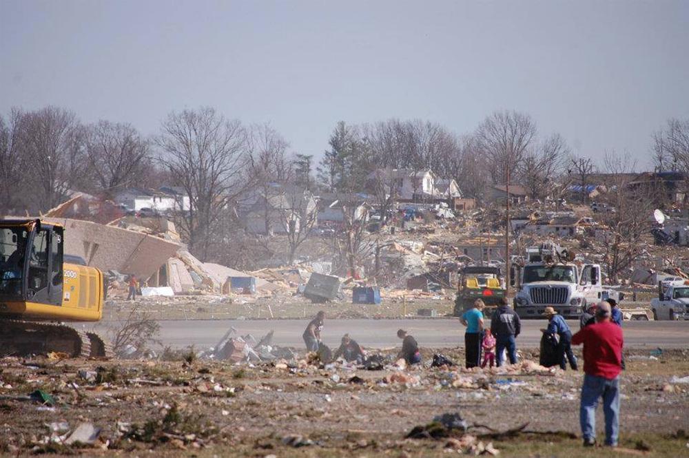 Harrisburg Tornado Cleanup - Feb 2012
