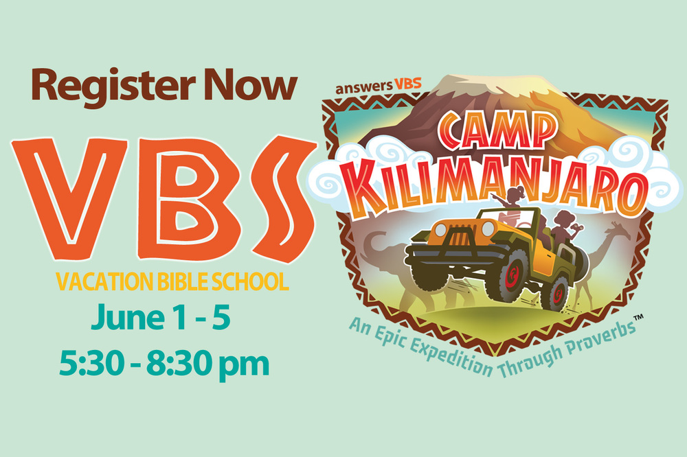 This may be the best week of the summer! Click here for details and registration.