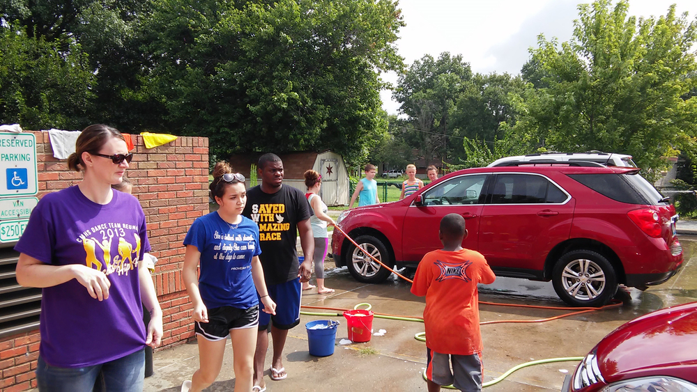 Car Wash Fundraiser - Aug 2015