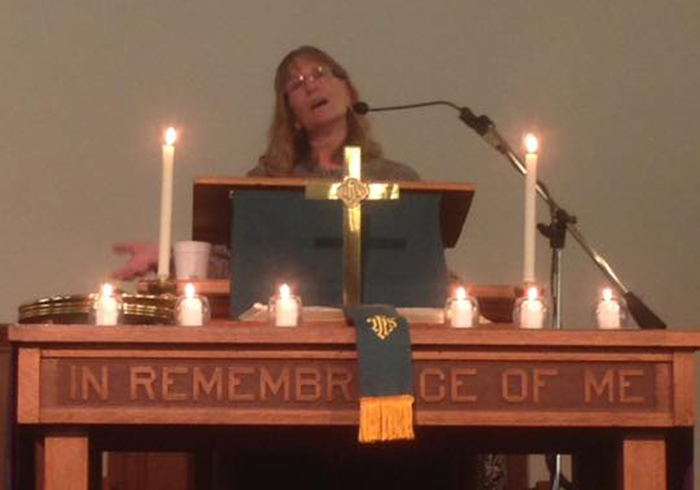 Rev. Deb Pollex - UMW Sunday - Nov 2015