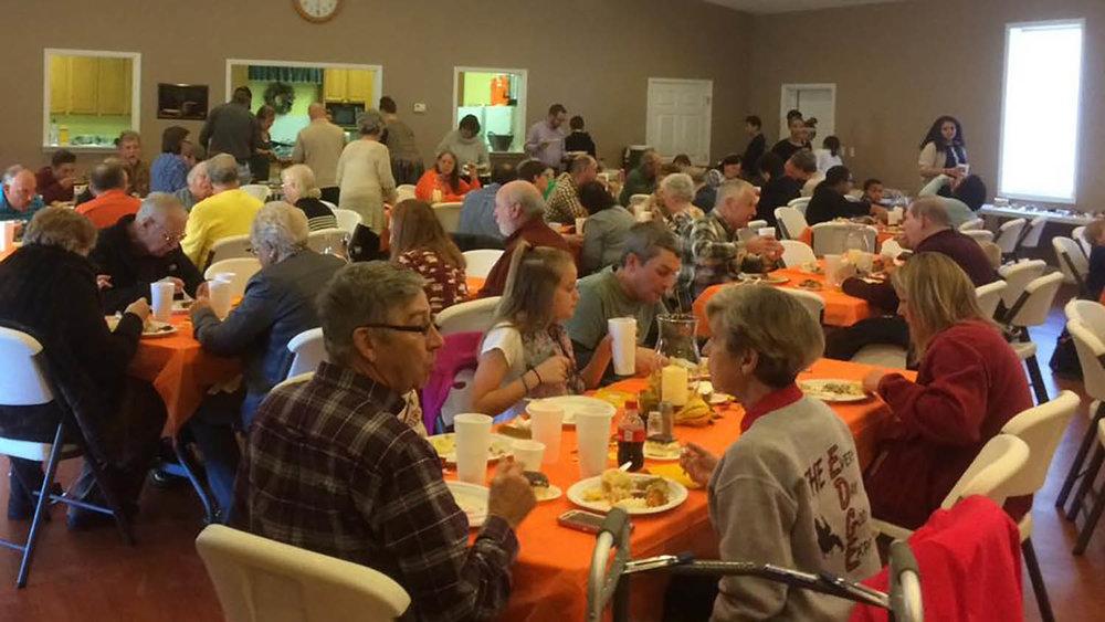 Church Thanksgiving Dinner - November 2016