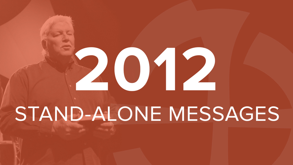 2012 Stand-Alone Messages