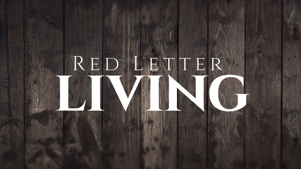 Red Letter Living Series - Dr Curt Dodd