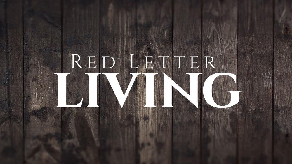 Red Letter LivingSeries