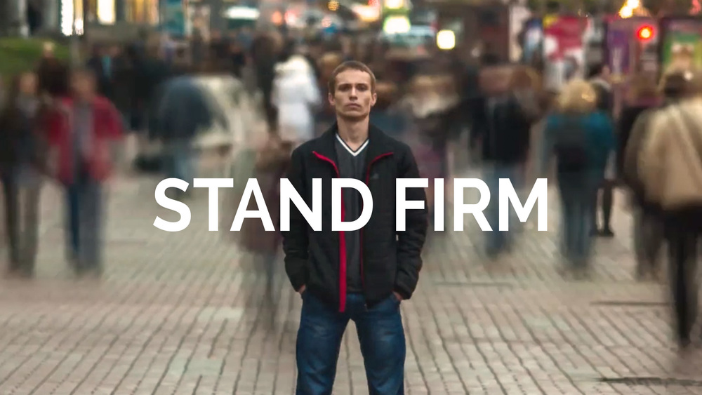 Stand Firm - Dr Curt Dodd
