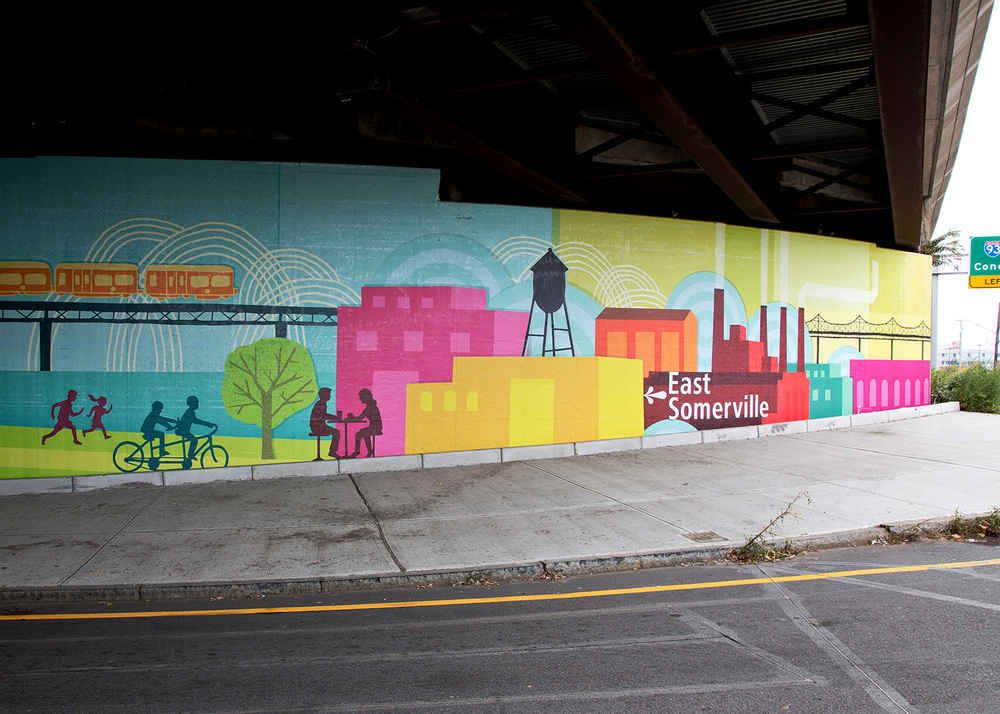 Assembly Row Mural (detail)