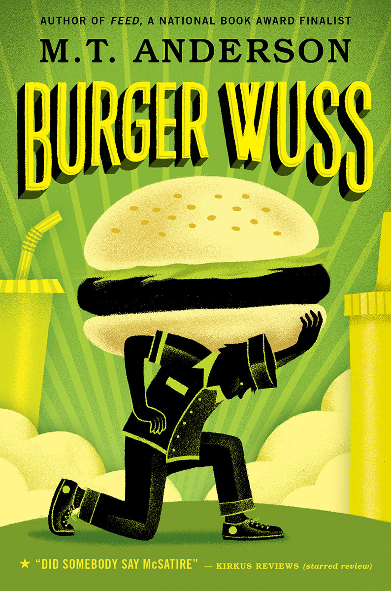 Burger Wuss Bookcover