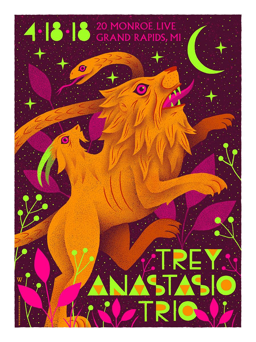 Trey Anastasio Silkscreen Poster