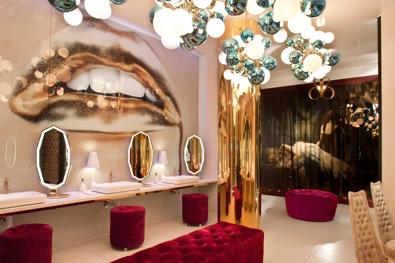 Vanity Nightclub Bathroom vanity — mister important design