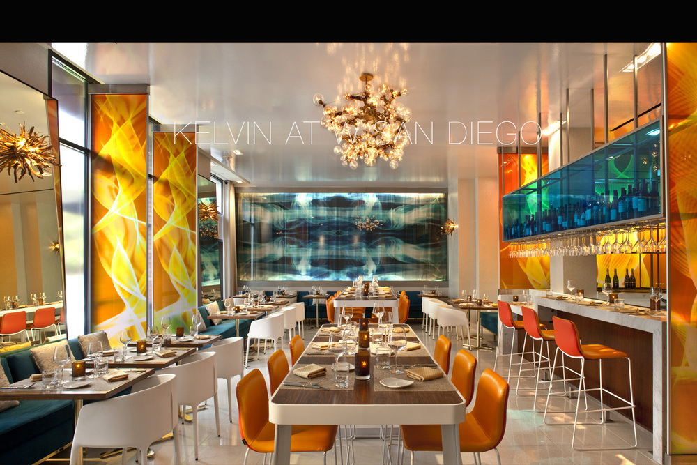 Kelvin at W Hotel San Diego by Mister Important Design & Mister Important Design