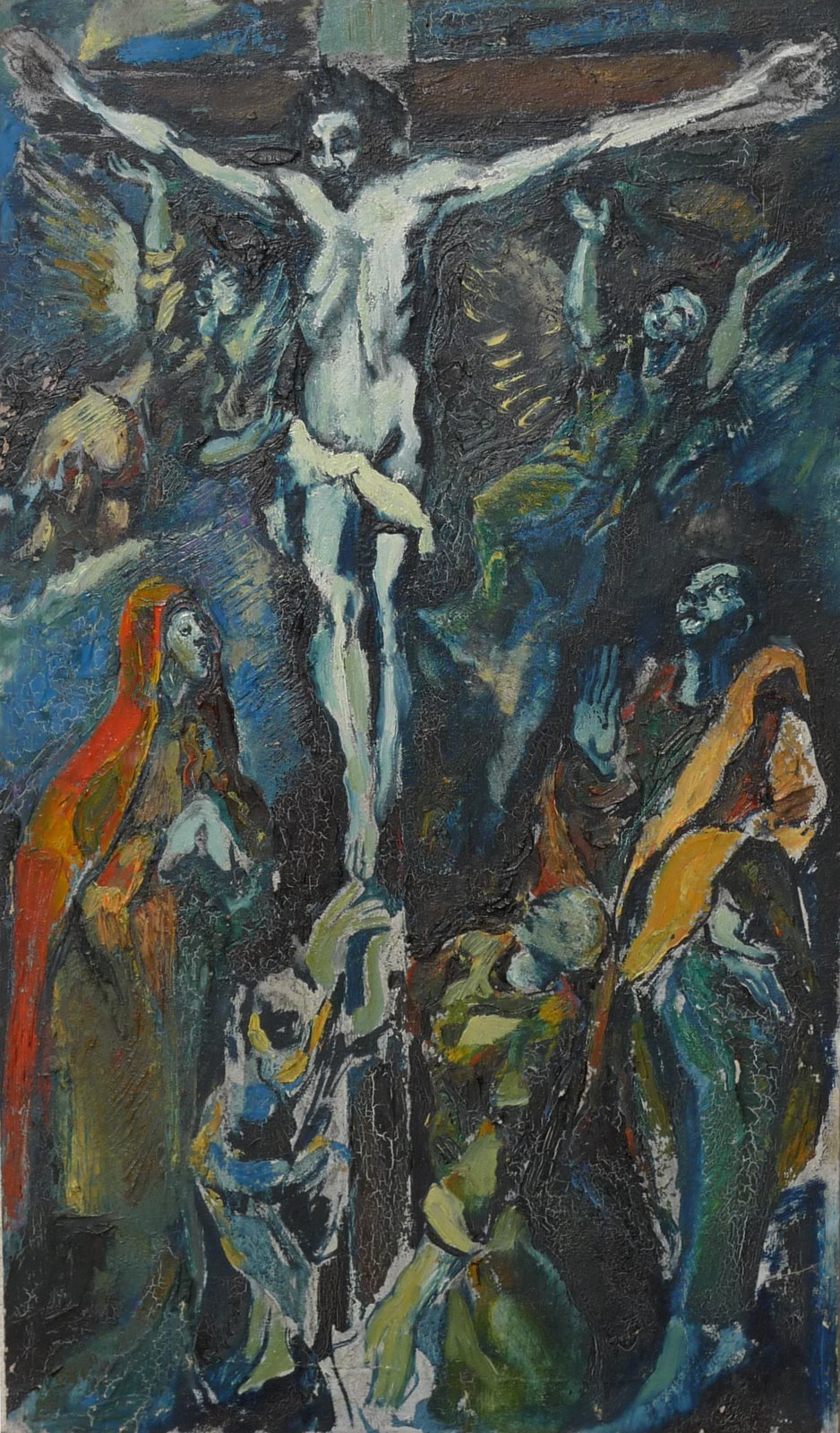 Christ on the cross according to El Greco (c.1931-32)
