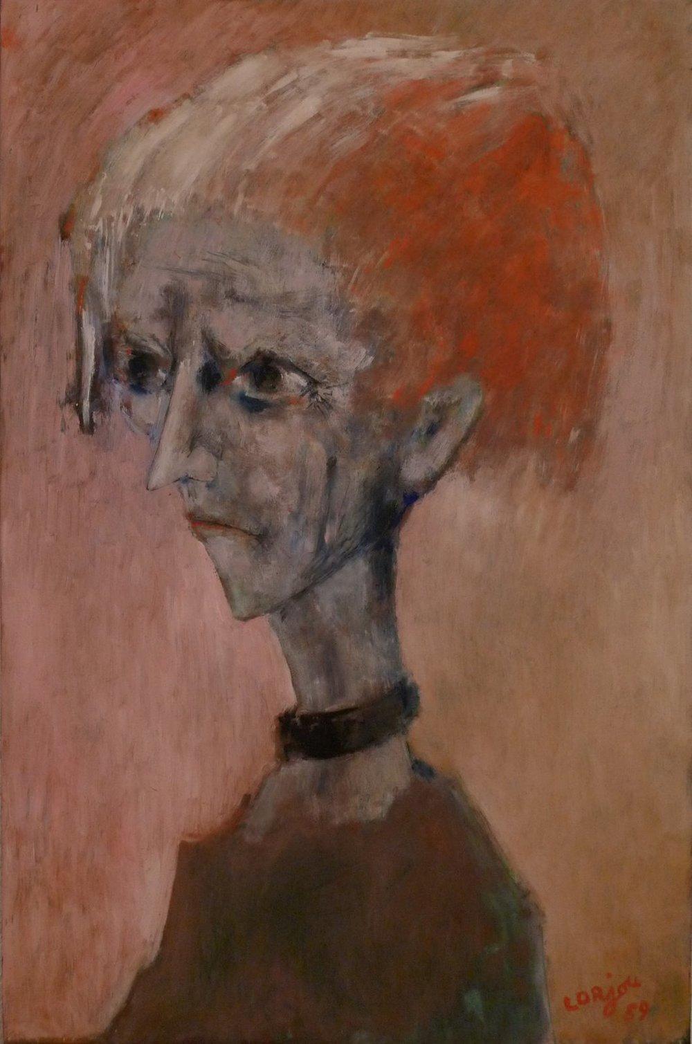 Odette, sister of the artist (1959)