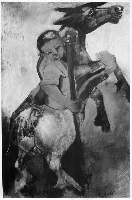 1948.La Chasse aux fauves (woman on horse)_L.jpg