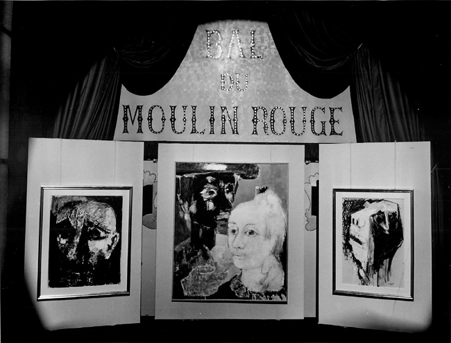 Third Manifest of the 'Homme Temoin' (Troisième manifeste de l'Homme Temoin)    Moulin Rouge   Paris, France    1962