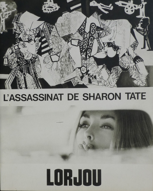 The Assassination of Sharon Tate (L'Assassinat de Sharon Tate)    Musee Galliera   Paris, France    October 14, 1970 - November 22, 1970