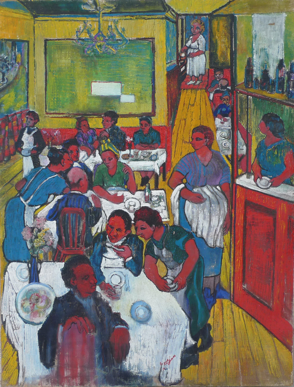 The Restaurant (La Brasserie) (1940)