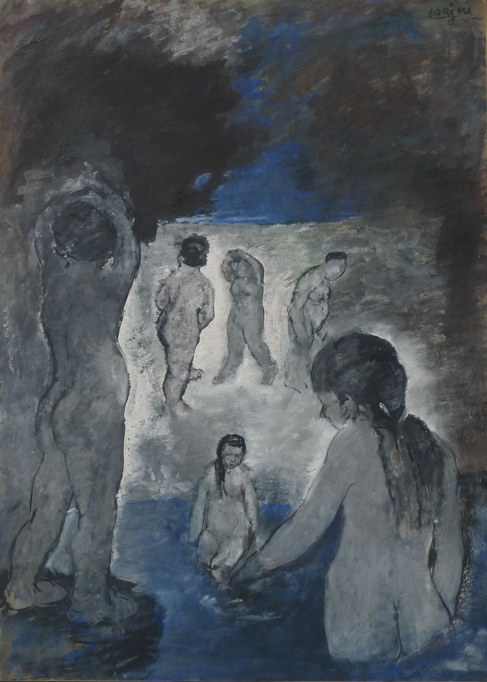 Night swim (c.1927-30)