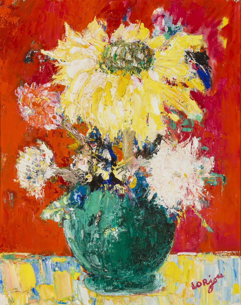 Bouquet de fleurs (c.1960-61)
