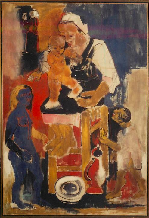 La Naissance du Peintre (1949)