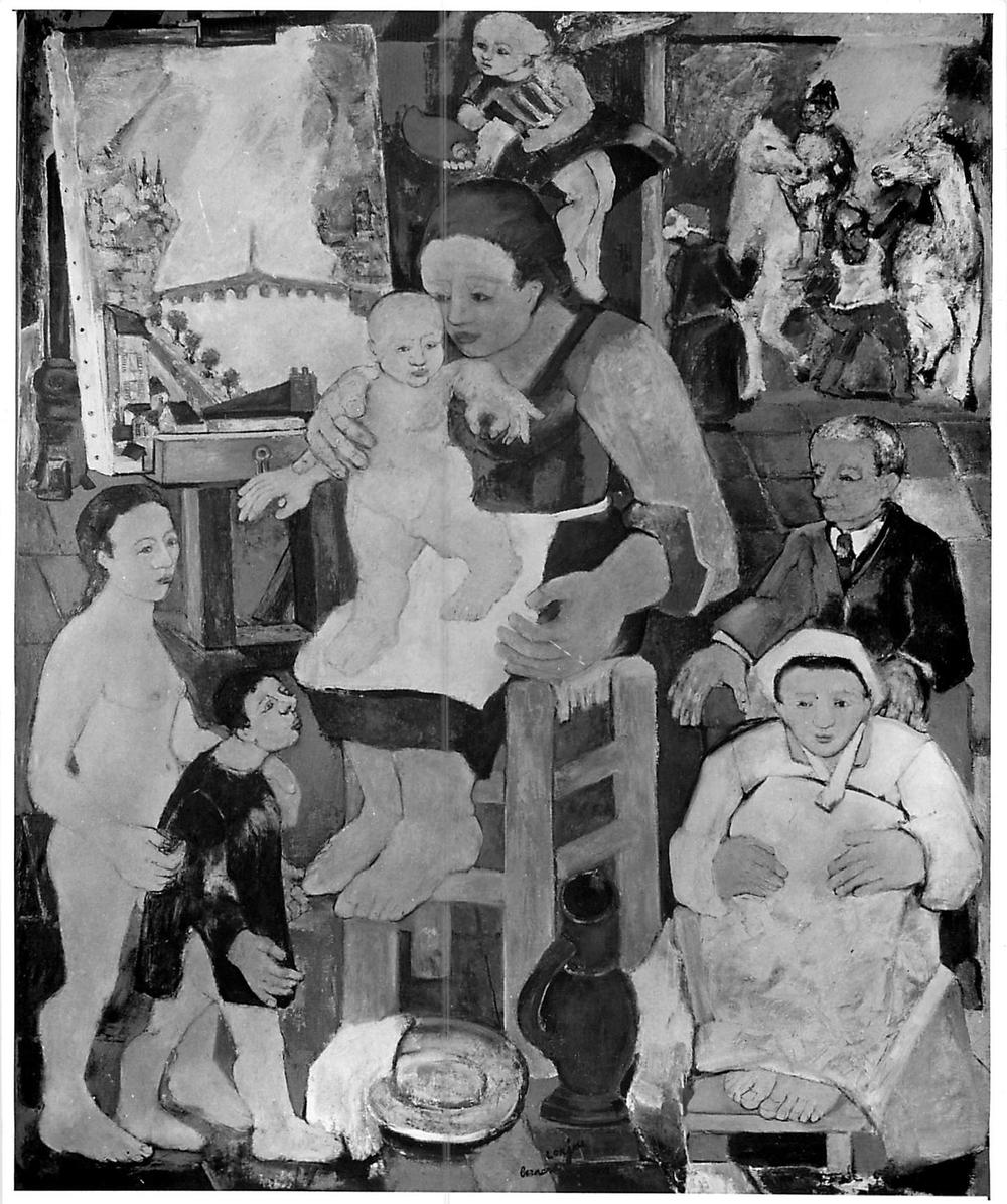 La Naissance du Peintre (The birth of the artist) (1949)