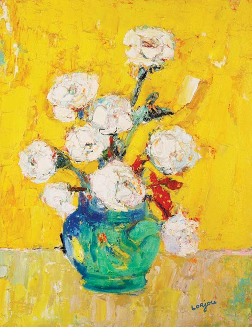 Yellow bouquet (c.1954-1957)