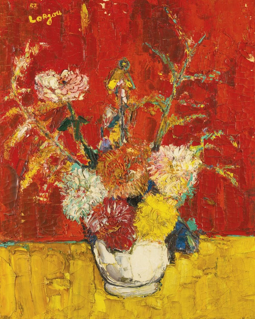 Vase de fleurs (1953)