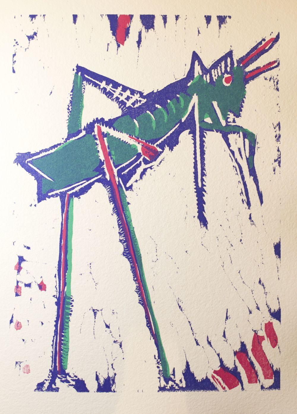 The Grasshopper (La Sauterelle)