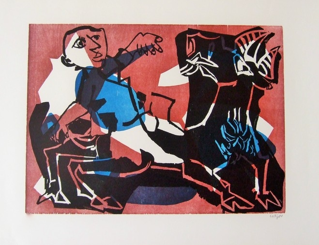 Rider and Goat (Cavalier et Chèvre)