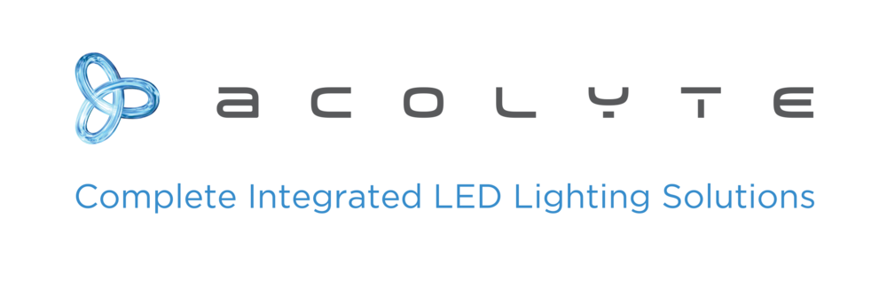 Interior/Exterior - Acolyte specializes in high quality linear tape light, surface and recessed extrusions,and various controls including DMX.