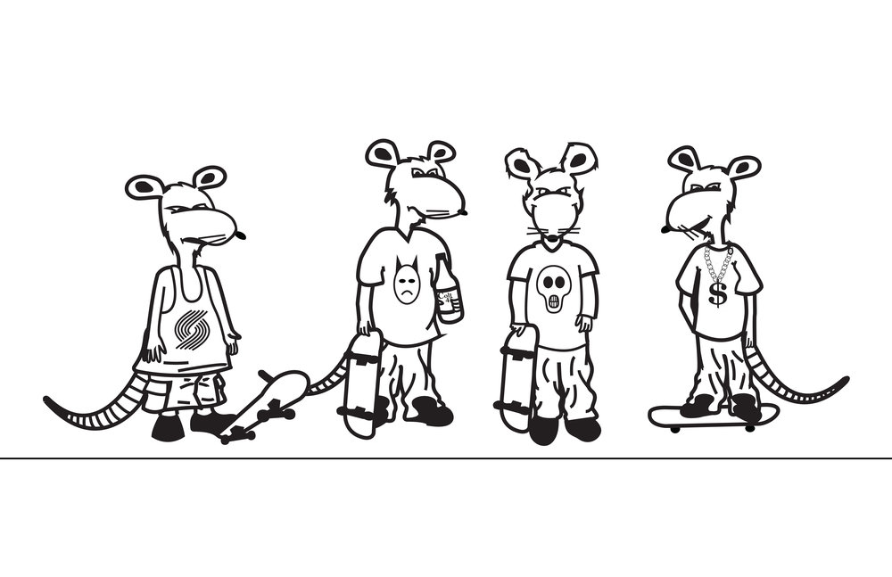 Skate Rats Graphic