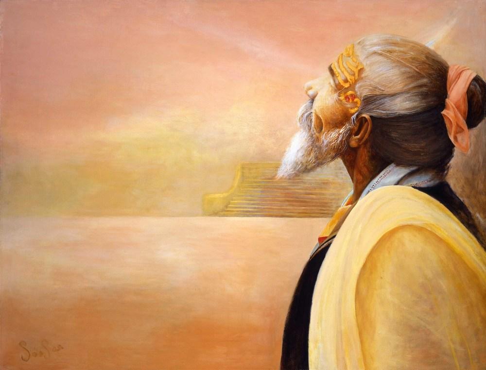 Sadhu at Sunrise