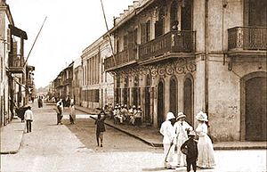 Turn of the Century on the streets of Saint-Louis, Senegal