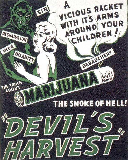 Devil's Harvest Propaganda Poster