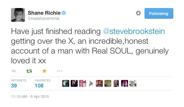 """Eastenders actor Shane Richie """"loved it"""""""