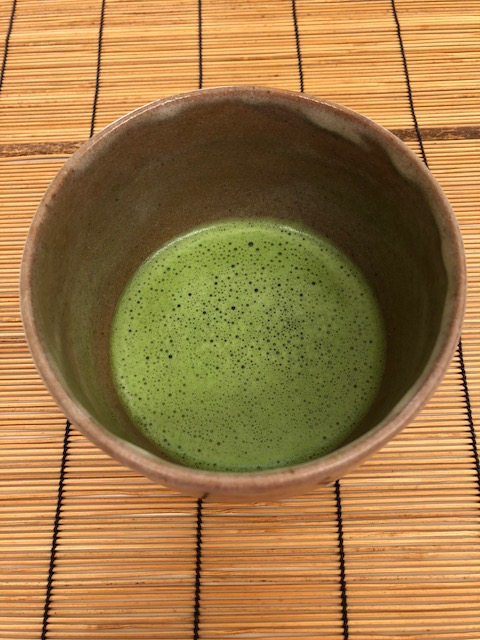 Matcha in my favorite chawan