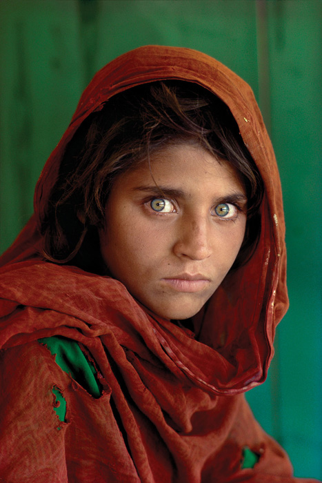 Paul's work led me to STEVE MCCURRY. © Steve McCurry