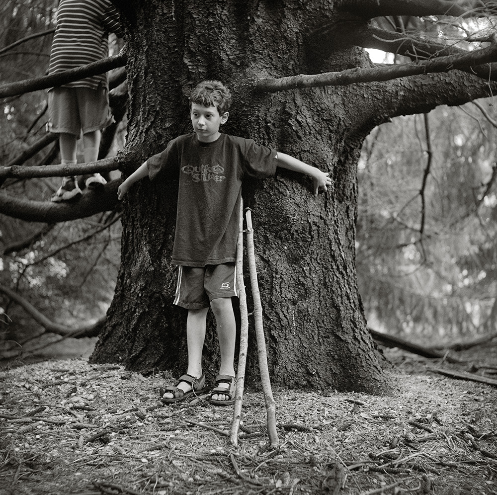 Another environmental portrait of my son inspired by Sally Mann.