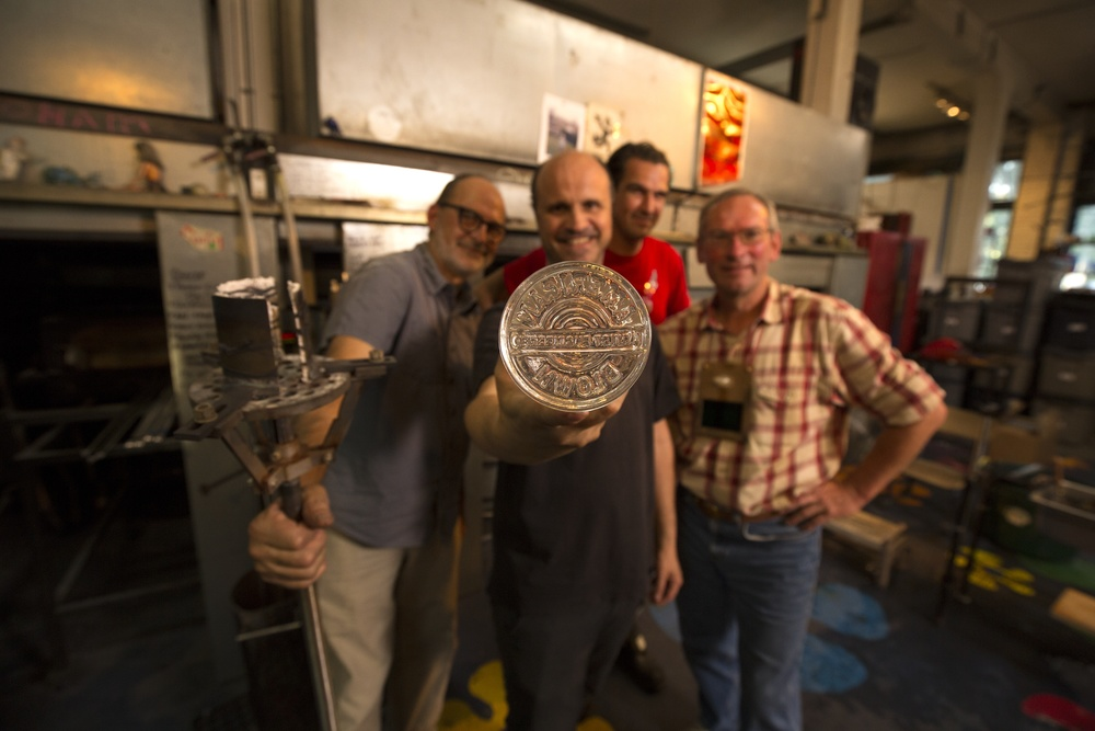 from left to right: Carlo Parriotti, Peter West, Oliver Doriss, Josef Zuvac. Photo: Russell Johnson