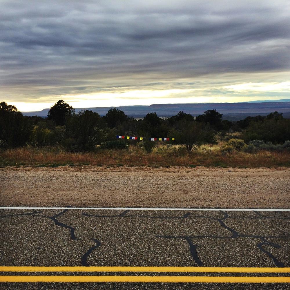 Utah / Arizona border