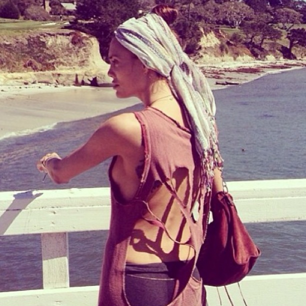 Our beautiful customer   @danikarlsson   wearing  @rocketiquette   maxi skirts in her wild adventures.