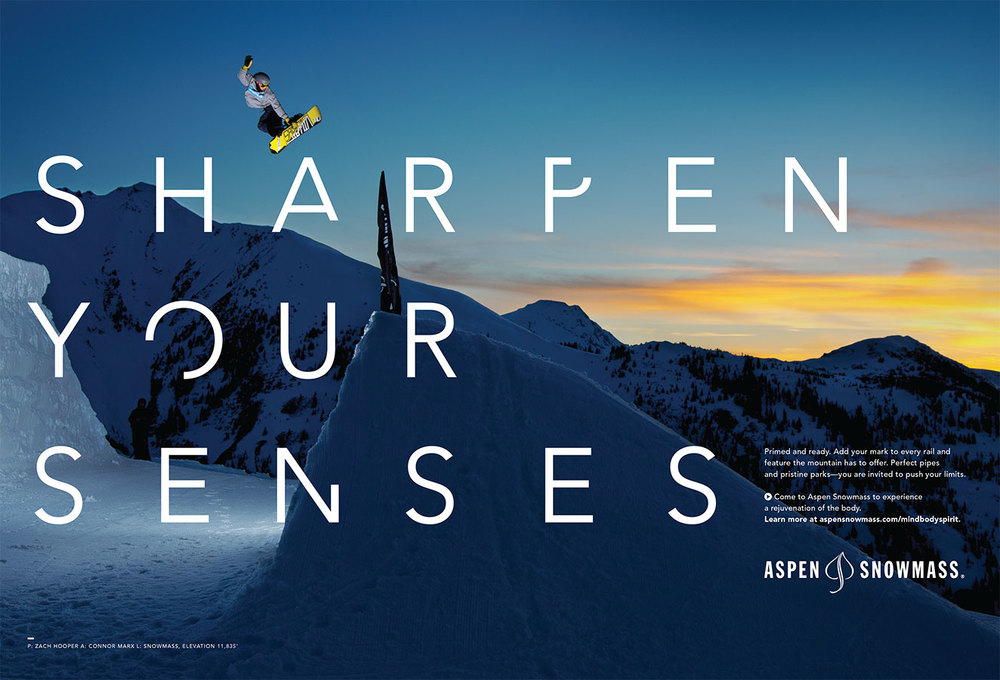 AGENCY-FACTORY DESIGN LABS <BR>CLIENT-ASPEN SNOWMASS