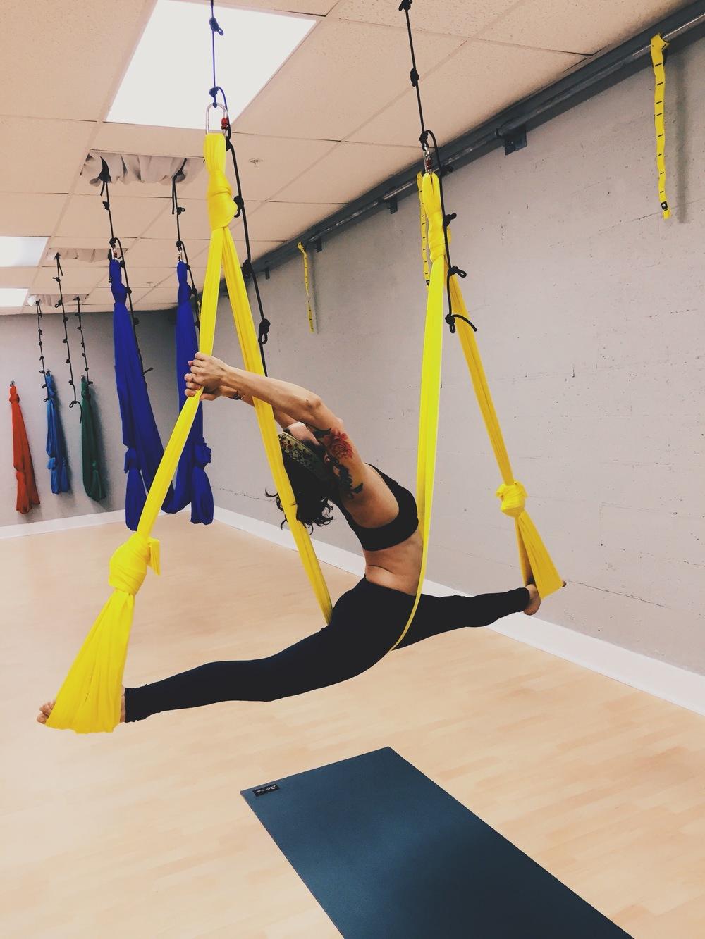 Carmen Aerial Yoga Balance Body Box