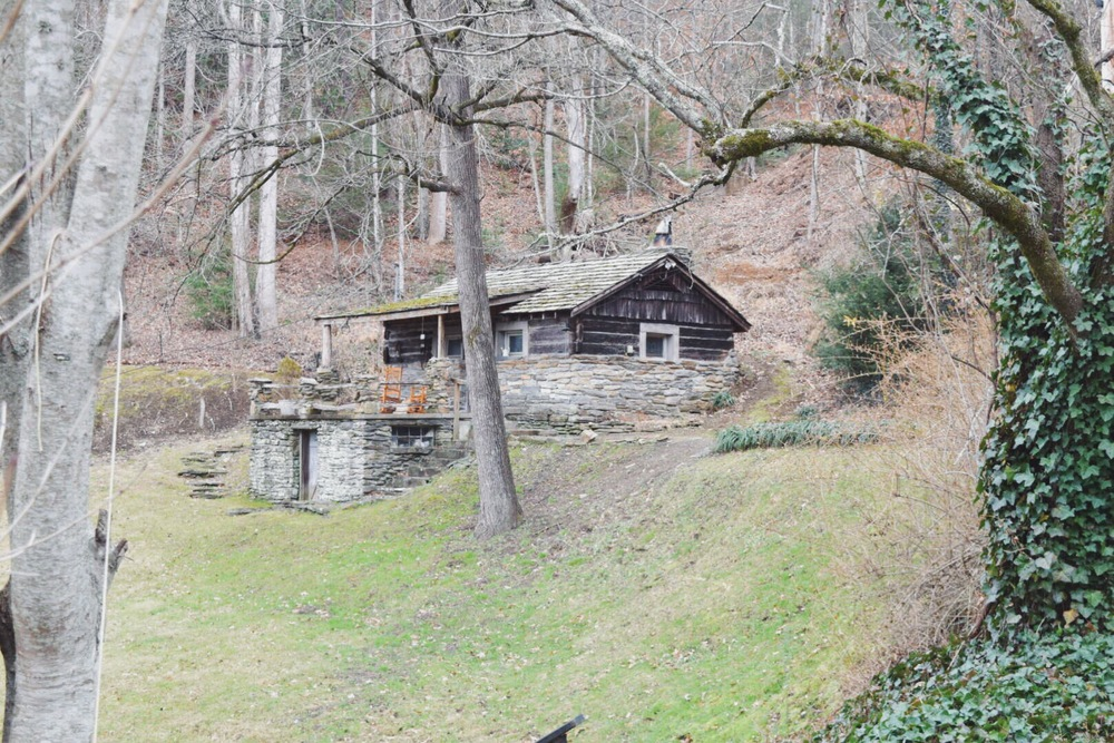 Cabin in the mountains, North Carolina, Travel!