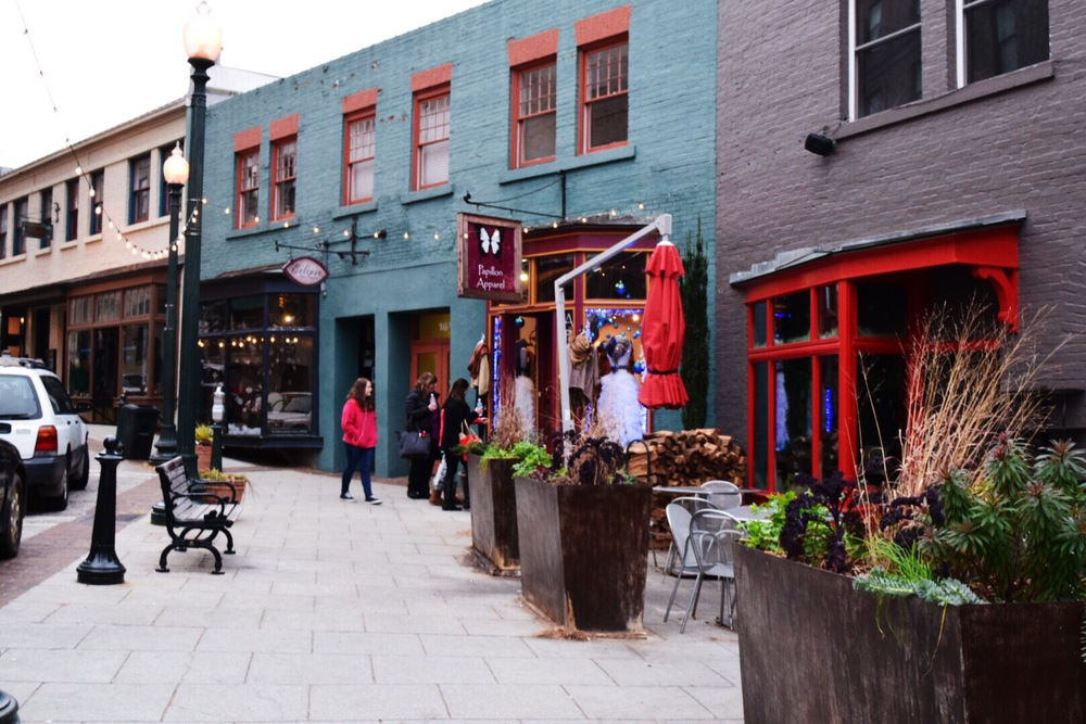 downtown asheville shops