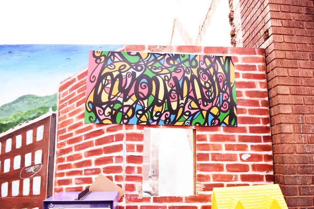Downtown Asheville Street Art