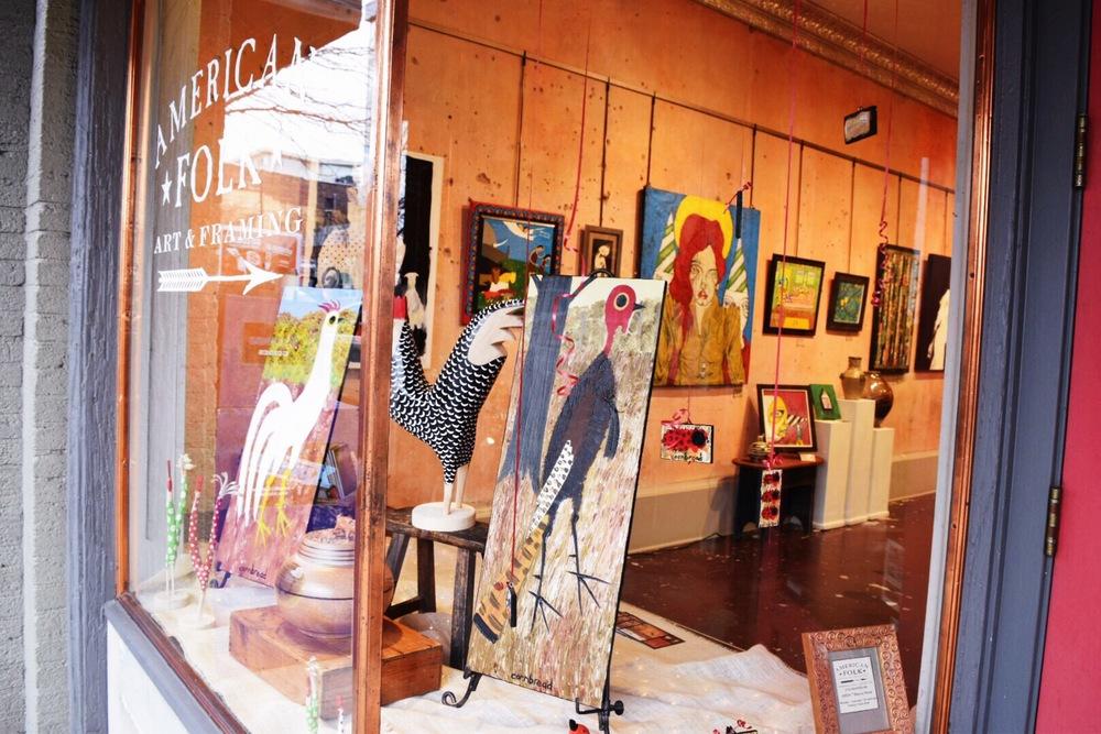 Downtown Asheville Eclectic Shops