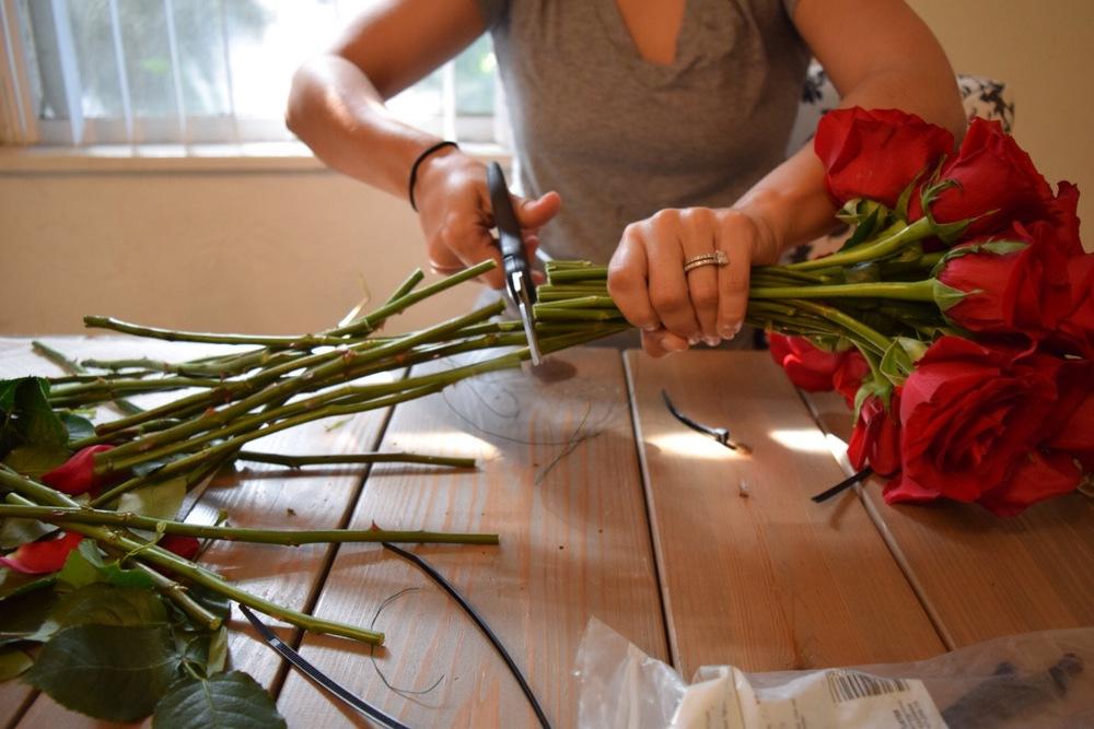 DIY Stem Cutting Bouquet DIY