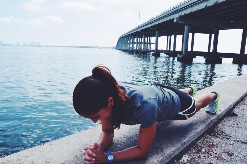 forearm plank core body workout